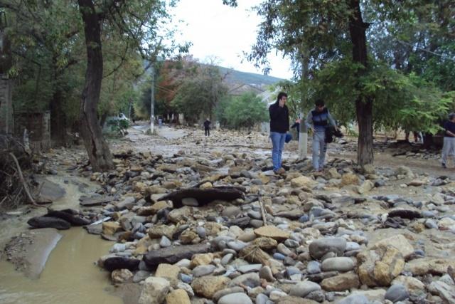Наводнение в Дербенте: Фото