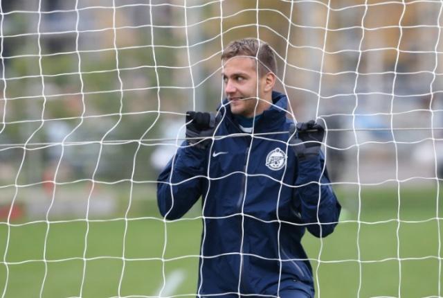 Тренировка перед матчем 2-го тура группового этапа Лиги чемпионов УЕФА «Зенит» — «Андерлехт» 11: Фото