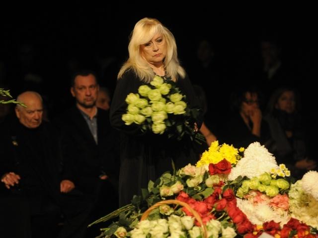 Прощание с Мариной Голуб: Фото