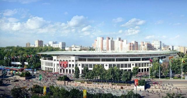 ЧМ 2018: макеты стадионов: Фото