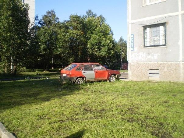 Неправильная парковка: Фото