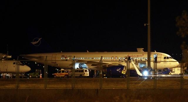 Самолет Турция Сирия Дамаск Анкара: Фото