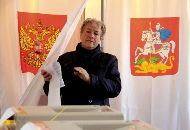 Единый день голосования 14 октября 2012: Фото