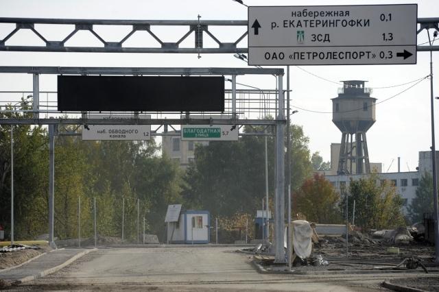Съезд с ЗСД на Обводный: Фото