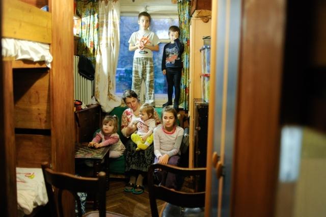 В семье Татьяны Рейпольской 7 детей: Фото