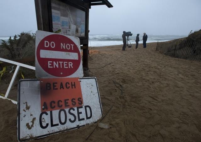 ураган Сэнди приближается : Фото
