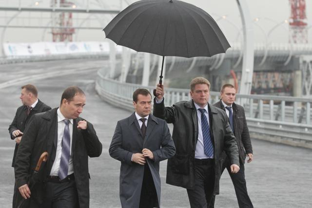 Открытие ЗСД, Медведев, 10 октября 2012: Фото