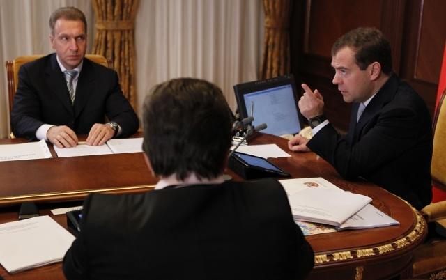 Медведев, совещание по пьяным водителям 5 октября 2012: Фото