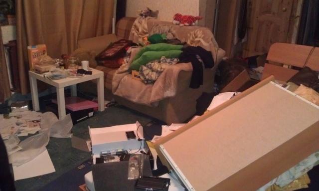 Кража в Выборгском районе: Фото
