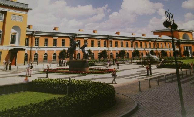 Кварталы реновации исторических территорий: Фото