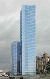 160-метровый небоскреб
