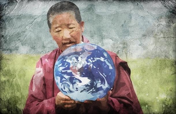 Тибетский монах сделал заявление для Nasa о конце света  в декабре этого года