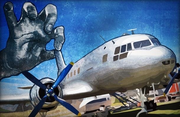 У петербуржца отбирают самолет за долги