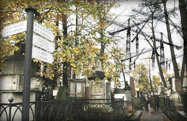 На старинном кладбище лавры чуть не разрешили деловую застройку