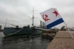 С крейсера «Аврора» ушел последний матрос
