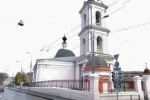 В центре Москвы осквернили два храма: спилили крест и исписали стену