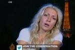 Лидер FEMEN разделась в эфире арабского телеканала «Аль-Джазира»