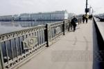 Дворцовый мост закроют на ремонт в середине октября