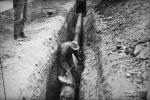 На Пискаревском проспекте прорвало трубу с кипятком