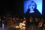 Прощание с Мариной Голуб 13 октября: как это было (кадры)