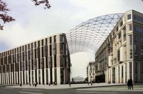 Строительство «Набережной Европы» в Петербурге застопорилось