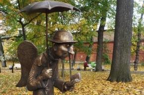 В Измайловском саду откроют скульптуру ангела-старичка