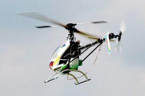 Под Тулой разбился спортивный вертолет, пилот погиб