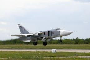 Фронтовой бомбардировщик Су-24 разбился в Челябинской области