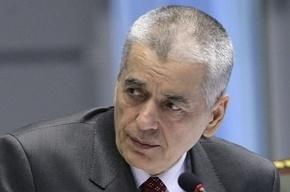 Единорос хочет отправить Онищенко в психбольницу за его угрозы распустить Думу
