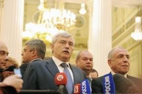 Из-за слов Полтавченко о «жлобстве» ему хотят вынести вотум недоверия