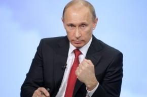 Путин призвал бизнесменов не «шакалить по сторонам»