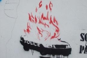 В Карелии сожгли пять машин полиции