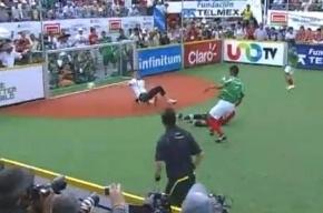 Чемпионат мира по футболу среди бездомных прошел в Мексике