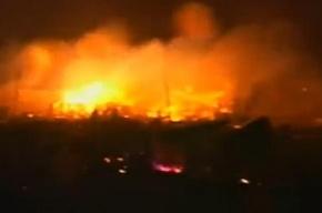 В подтопленном Нью-Йорке горят 24 дома в Куинсе