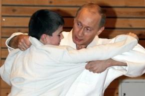 Знаменитый российский дзюдоист Путин получил восьмой дан