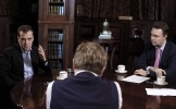 Дмитрий Медведев, интервью Коммерсанту: Фоторепортаж