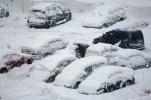 Пробки снег: Фоторепортаж