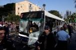 Тель-Авив, взрыв автобуса, 21 ноября 2012: Фоторепортаж
