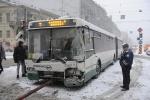 Фоторепортаж: «Трамвай и автобус ДТП авария 30 ноября 2012»