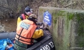 Фоторепортаж: «Стоки вод в Неву, Гринпис, чиновники»