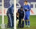 Матч Динамо- Зенит прерван из-за травмы вратаря Антона Шунина (фоторепортаж): Фоторепортаж
