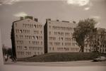 Оформление брандмауэров в Петербурге: Фоторепортаж
