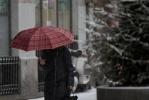 Фоторепортаж: «Снегопад, метель, мороз, Петербург»