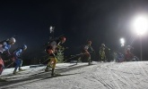 Биатлон, смешанная эстафета 25.11.12 (фоторепортаж): Фоторепортаж