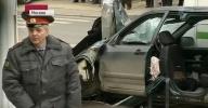 ДТП на Онежской улице в Москве - кадры с места события: Фоторепортаж