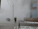 Прорыв трубы, кипяток, разлив воды, улица Кораблестроителей, 30 ноября 2012: Фоторепортаж