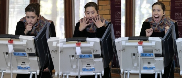 Голосование на президентских выборах в США: Фото