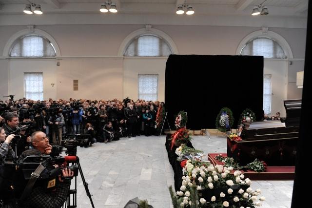 Прощание с Борисом Стругацким: Фото