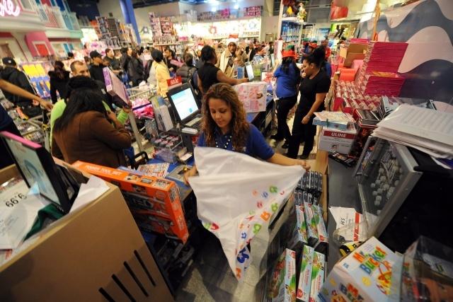 Черная пятница в США 2012: распродажи: Фото