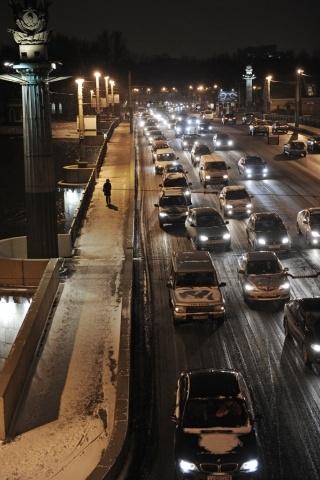 Пробки в Петербурге - зима 2012: Фото